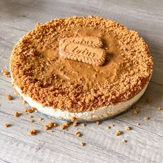 Nepečený Lotus cheesecake | Prostě Boží Lotus Cheesecake, Cheesecake Recipes, Healthy Deserts, Sweet Desserts, Cheesecakes, Food Photo, Food And Drink, Cooking Recipes, Sweets