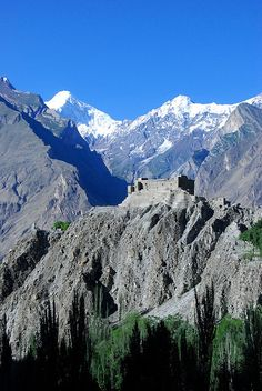 Baltit Fort and Diran Peak, Kashmir. Photo: matt and elise via Flickr