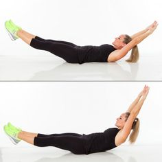 Hollow Rock CrossFit WOD - Best Abs Exercises to Lose Belly Fat - Shape Magazine