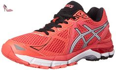best loved 13dfb 275b1 Asics GT-2000 3 Synthétique Chaussure de Course, Diva Pink-Silver-Black