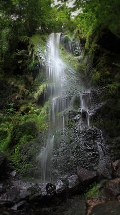 Mallyan Spout, Foss Waterfall, North Yorkshire Moors