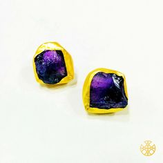 These amethyst ear tops can make your outfit come alive. Besides, the stones' legendary powers to stimulate and soothe your mind and emotions adds that extra value to your jewelry collection.   Follow us on Instagram: instagram.com/malanajewels/  Like us on Facebook: www.facebook.com/malanajewels  To buy, please mail us on info@malanajewels.com with your requirements or call us on +91 9820302982.