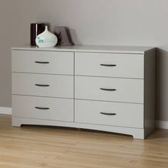 Free Shipping. Buy South Shore SoHo 6-Drawer Double Dresser, Multiple Finishes at Walmart.com