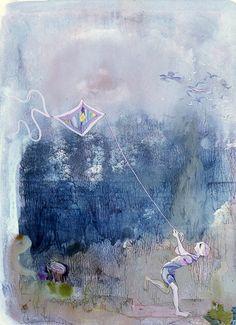 Artist: Ligia Macovei Style: Expressionism Genre: symbolic painting Art Database, Ways Of Seeing, Expressionism, Artworks, Boat, Symbols, Fine Art, Landscape, Artist