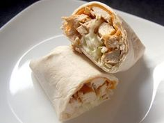 BBQ Chicken Wrap *7 Chicken Sandwich and Wraps in Under 30 Min*  http://m.halfhourmeals.com/food-for-thought/7-chicken-sandwich-and-wrap-recipes/