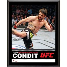 Carlos Condit Ultimate Fighting Championship Fanatics Authentic x Sublimated Plaque Natural Born Killers, Ufc Fighters, Ultimate Fighting Championship, Mma, Baseball Cards, Fitness, Sports, Tuesday, Hs Sports