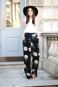 Floral pants #buylevard #fashion