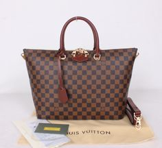 Louis Vuitton Damier Ebene Canvas Belmont N63169