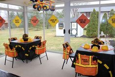 Dump Truck & Construction Party Birthday Party Ideas   Photo 20 of 24