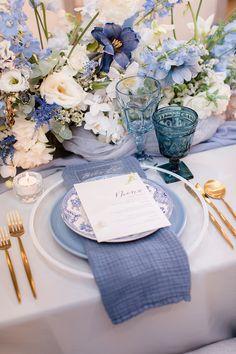 New York Wedding, Our Wedding, Dream Wedding, Table Setting Inspiration, Wedding Inspiration, Wedding Colors, Wedding Flowers, Bridal Shower, Baby Shower