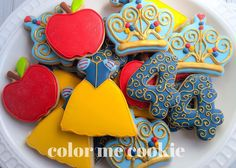 Color Me Cookie Snow White