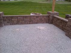 How To Build Seating Walls And Posts On Soil   YouTube   How To Videos    Pinterest   Gardens, Columns And Old Houses