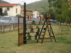 Aperto scaffale. Tempi Materiali. Orgiano (VI) 2009. Installazioni, con incontri e laboratori, di Oreste Sabadin.