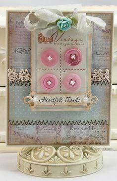 card with heartfelt thanks <3