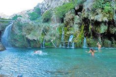 Kourtaliotiko Gorge - Kouroupa, Crete, Greece
