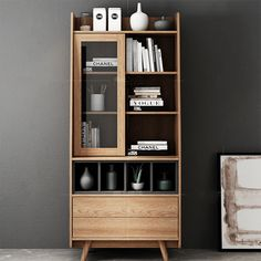 Japanese Furniture, French Furniture, Bedroom Furniture Design, Art Furniture, Bookshelves, Bookcase, Small Cabinet, Hotel Interiors, Desk With Drawers