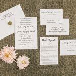Invites- The Lakehouse Inn, Perkasie PA, Philadelphia Weddings {Queen Bee Paperie}