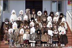 Evenki children, Republic of Sakha (Maria Vasilieva)