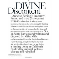 Divine Discontent for Santa Barbara Magazine ❤ liked on Polyvore featuring words, text, phrase, quotes and saying