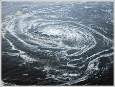 US scientists discovered two giant whirlpools in the Atlantic Ocean, off the coast of Guyana and Suriname.
