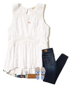 Designer Clothes, Shoes & Bags for Women Preppy Outfits, Cool Outfits, Fashion Outfits, Spring Clothes, Spring Outfits, Polyvore Outfits, Polyvore Fashion, Southern Fashion, Warm Weather Outfits