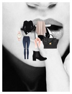 """""""Untitled #5"""" by nermin-cergic ❤ liked on Polyvore featuring George, Aéropostale, Chan Luu, Forever 21, CLUSE, women's clothing, women's fashion, women, female and woman"""