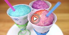 How To Make Snow Cone Cupcakes - Foood Style