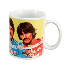 Vandor 64061 The Beatles Ceramic Mug Sgt. Peppers, Multicolored, 12-Ounce by Vandor. $8.30. Microwave safe. Dishwasher safe. 12-ounce Mug. Features The Beatles. Material: ceramic. SGT. Peppers 12 ounce Decal Mug. Save 17%!