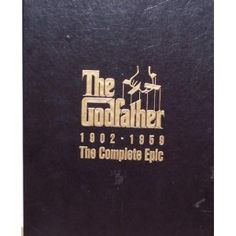 THE GODFATHER IN CHRONOLOGICAL ORDER...FAVORITE MOB MOVIE EVER!