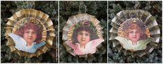 Fold Victorian Wire Ribbon Rosettes | Belznickle Blogspot : Fold Victorian Wire Ribbon Rosettes