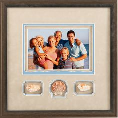 Update Your Home With New Art - The Great Frame Up #familyphotos #customframing #pictureframing #memories #beach #keepsakes #shells