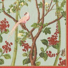 Hand Towels or Paper Towels Party Supplies Audubon Birds Pk 30 Caspari 13120G