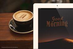 Good+Morning+Mockup+(iPad+and+Latte+Art)