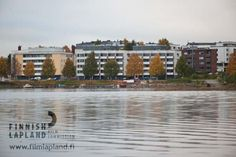 Kemijoki river and the city of Rovaniemi, Finnish Lapland. Photo by Lappikuva. #filmlapland #finlandlapland #arcticshooting