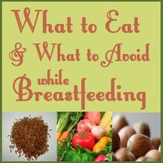 Printable List Of Breastfeeding Friendly Food
