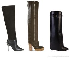 Women top footwear trends for fall winter 2014/15 #topshop #chloè #givenchy #shoes