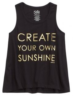 Sunshine Graphic Tank