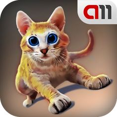 Cat Simulator 3D – this little kitten is so active and energizing, it won't let you get bored! Kitten is a child, so it want jump, run and drop everything. http://academmedia.com/en/apps/cat_simulator_3d