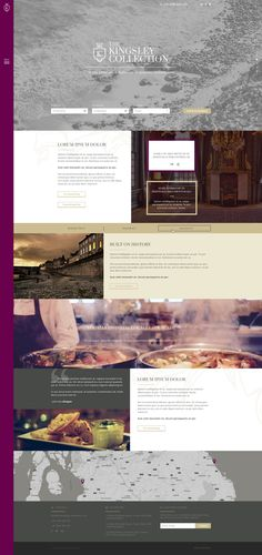 A new website design for a local hotel chain. #webdesign #fluid #bootstrap #hotel #nothemeshere #responsive