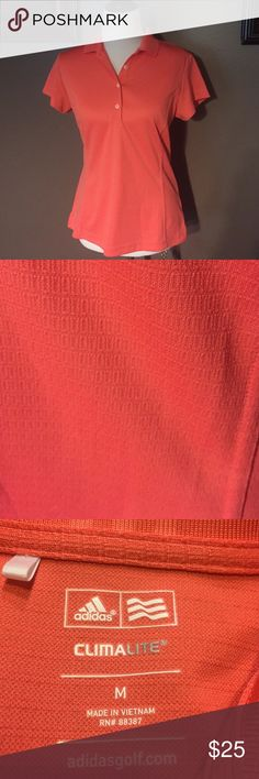 Adidas size M activewear shirt Fitted active wear shirt. Like new condition. Size medium Adidas Tops