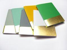 DIN A5 - Golden notebook DIN A5 - ein Designerstück von Emadam bei DaWanda