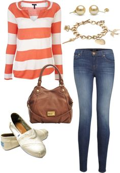 """""""Everyday Casual. Love Toms."""" by trevak823 on Polyvore"""