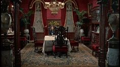 The filmmakers decided that the 14,000-square foot mansion could pass for Aunt Polly's house and painted the top two floors on. Description from hookedonhouses.net. I searched for this on bing.com/images