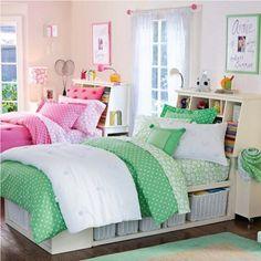 Twin Girls Bedroom Ideas — Room Furnitures : Astonishing Twin ...