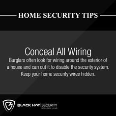 One very important decision that house owners have to make concerning home security products is whether they opt for hardwired or wireless house security items. Obviously both wireless and difficul… Wireless Security Cameras, Wireless Home Security Systems, Security Alarm, Safety And Security, Home Security Tips, Security Products, Hide Wires, Home Safes, Home Defense