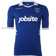 Portsmouth FC Kappa Home, Away and Third Football Kits / Soccer Jerseys Football Kits, Sport Football, British Football, Football Fashion, English Premier League, Soccer Jerseys, Fa Cup, Best Player, Portsmouth