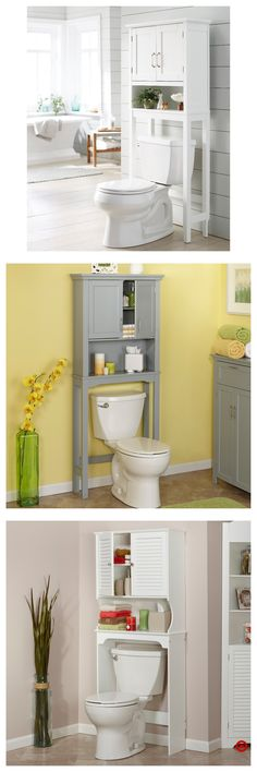 Wyndenhall Hayes White Bathroom Space Saver Cabinet White For - Wyndenhall hayes white bathroom space saver cabinet