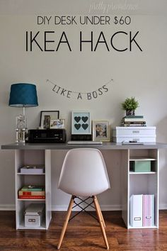 diy ikea big butcher block desk top or a counter top from ikea to put on top ofu2026