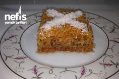 Kadayif Cake Dessert Recipes.. when you click on this site then right click and a translate to english option should pop up...