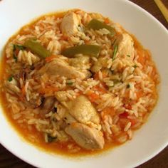 Stewed Chicken With Rice Recipe   Yummly